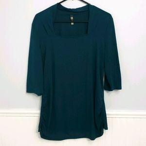 Thyme Green Maternity Shirt